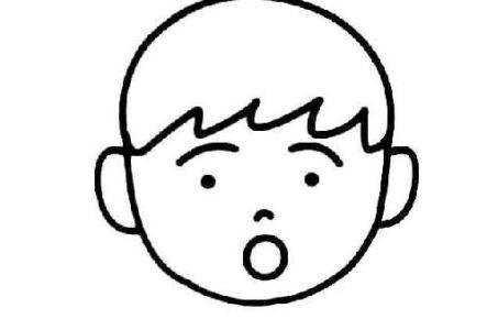 简笔画害怕的表情 害怕表情简笔画表情包